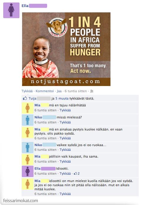 Nälänhätä on niin last season