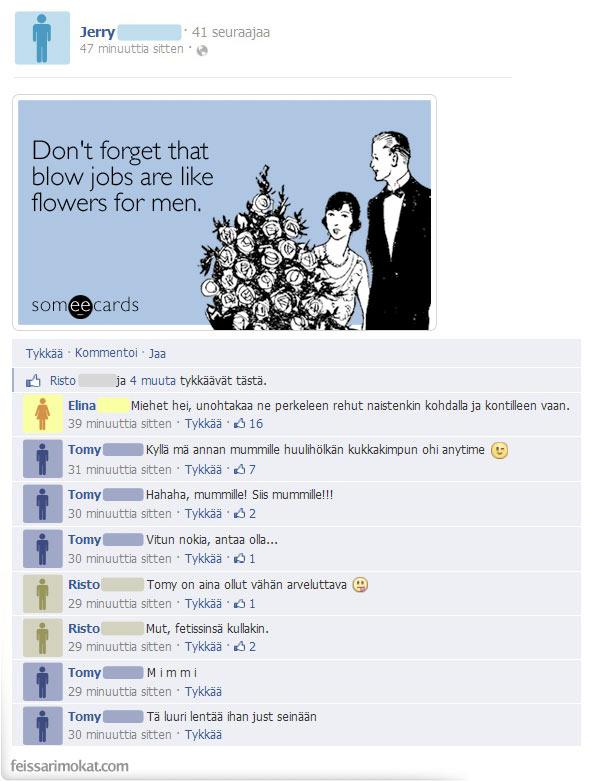 Hauska Blow Job vitsejä