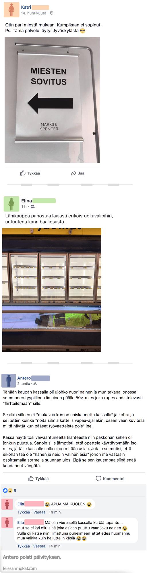 Kohtaamisia kaupoilla, osa 87