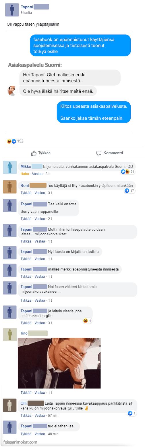 Asiakaspalvelu Suomi