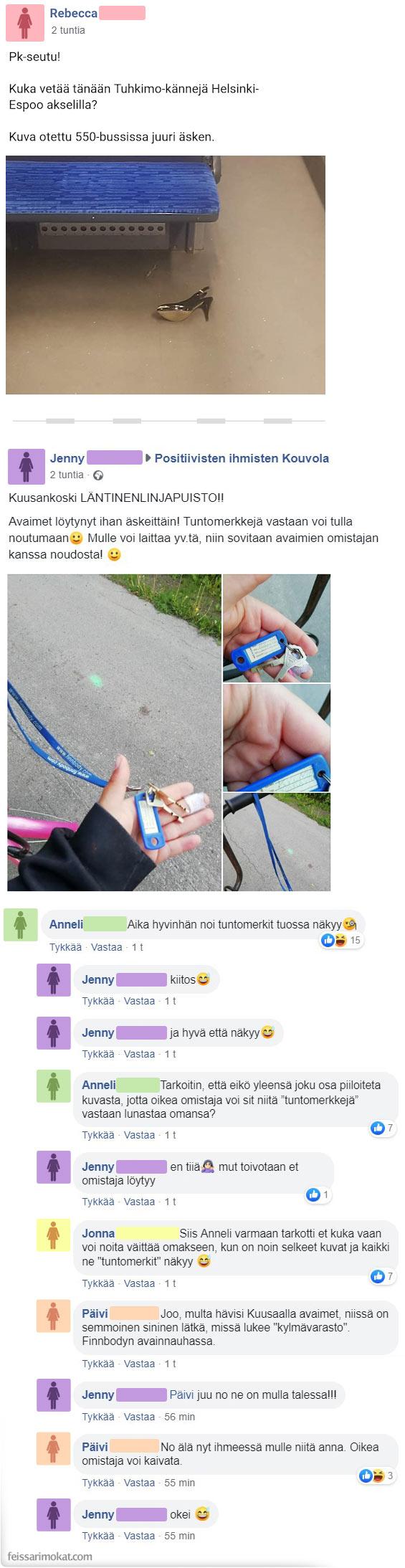 Löytötavaratoimisto Facebook, osa 18