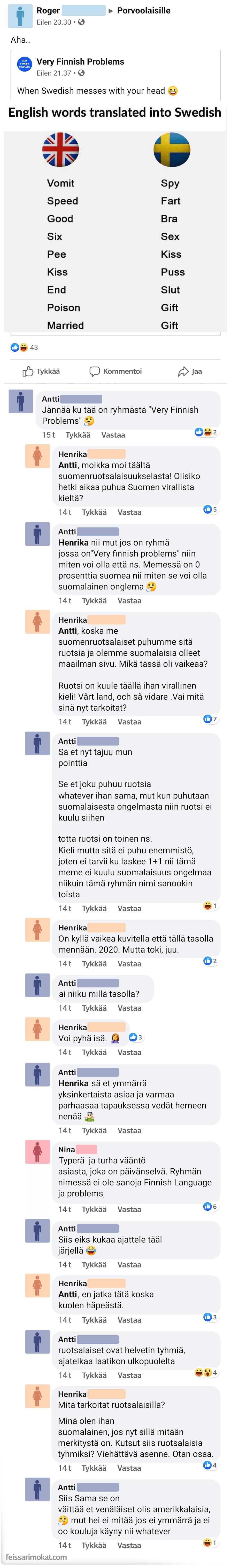 Suomalaiset ongelmat