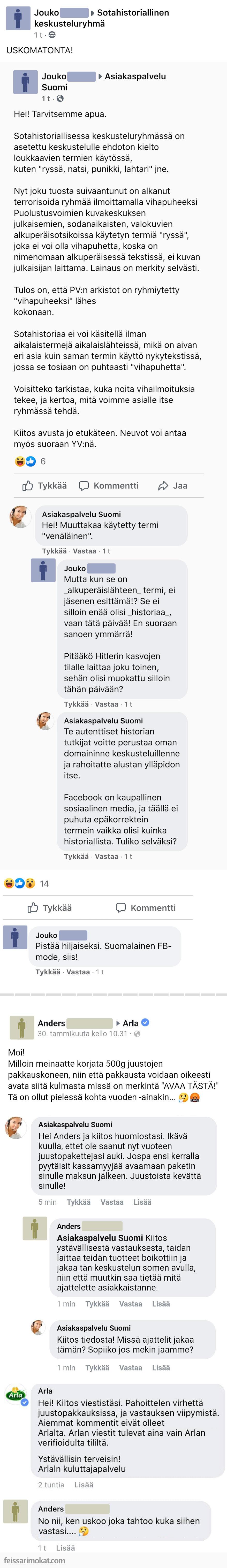 Asiakaspalvelu Suomi, osa 3
