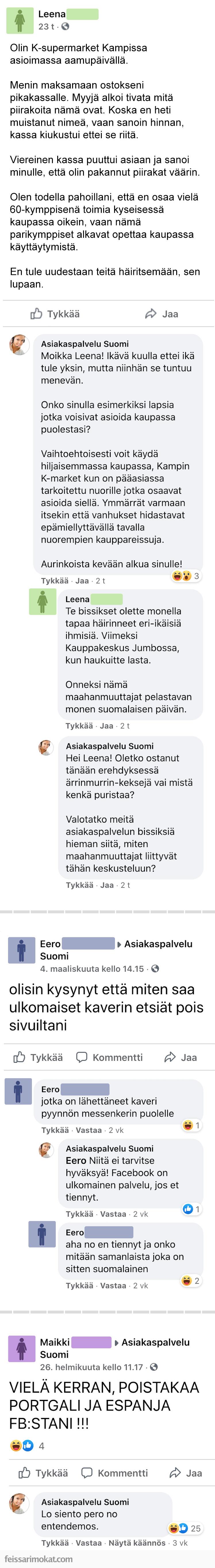 Asiakaspalvelu Suomi, osa 4